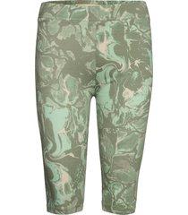gumikb printed shorts cykelshorts grön karen by simonsen