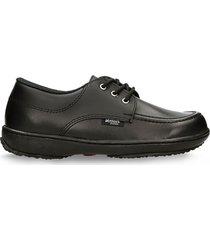 zapatillas escolares negro verlon diana gold (talla 26 - 32)