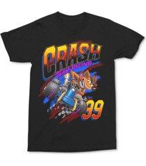 crash bandicoot men's graphic t-shirt