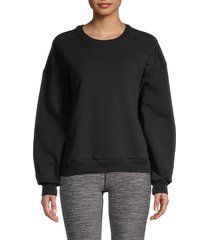vimmia women's stevie cotton sweatshirt - slate - size s