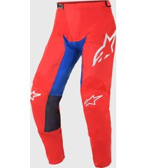 pantalon racer supermatic 2021 rojo alpinestars