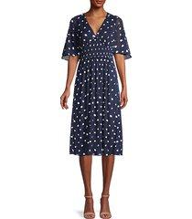 nala palm spotted dress