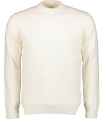jac hensen premium pullover - slim fit - crem
