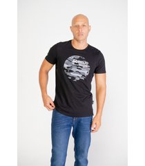 camiseta pompilio slim algodon 100% estampado