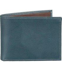 billetera básica de cuero para hombre 07822