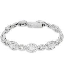 marina crystal oval link bracelet