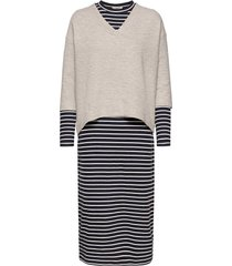 dresses knitted dresses knitted dresses grå esprit casual