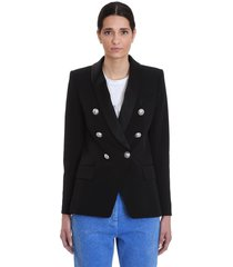 balmain blazer in black viscose