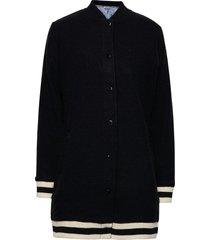 himle jacket stickad tröja cardigan svart kari traa