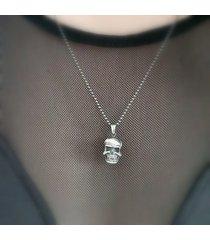 czaszka - wisiorek mały