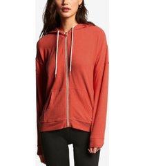 volcom juniors' lil zip fleece hoodie