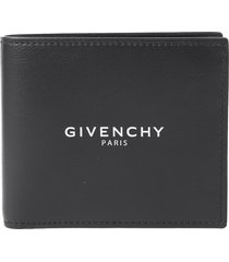 givenchy black logo wallet