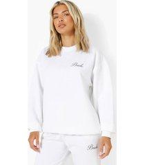 bride sweater, white