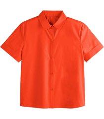 skjorta med kort ärm