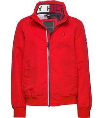 essential jacket bomberjack rood tommy hilfiger