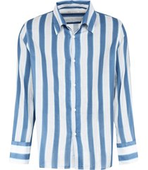 our legacy soul striped cotton shirt