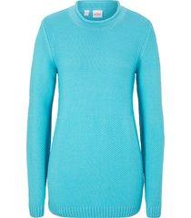 maglione in mix di punti (blu) - john baner jeanswear