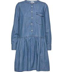 beata dr kort klänning blå part two