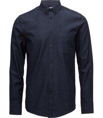 m. pierre flannel shirt overhemd casual blauw filippa k