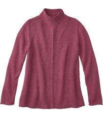 pullover met staande kraag, wild berry 34