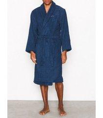 gant terry robe morgonrockar blue