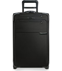 briggs & riley baseline 22-inch expandable wheeled carry-on - black