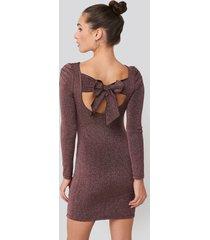 trendyol mini backless dress - purple,copper