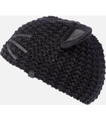 karl lagerfeld women's choupette luxury beanie - black