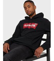 levis graphic po hoodie b hm po co m tröjor black