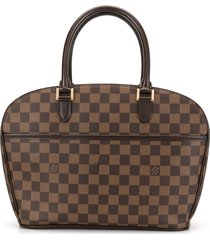 louis vuitton 2004 pre-owned sarria horizontal tote - brown