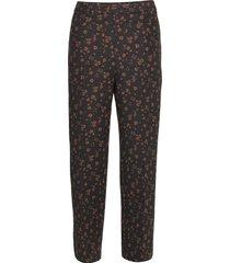 adele pants pantalon met rechte pijpen zwart nué notes