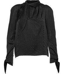 bowy jac zv shirt blus långärmad svart zadig & voltaire