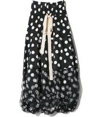 cherry spot balloon skirt in spot
