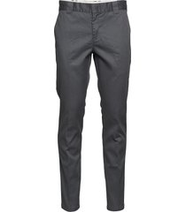 slim fit work pant chinos byxor grå dickies