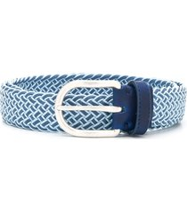 jacob cohen woven belt - blue