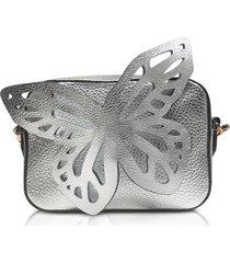 sophia webster designer handbags, flossy butterfly camera bag