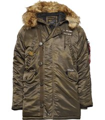 n3b airborne parka jas multi/patroon alpha industries