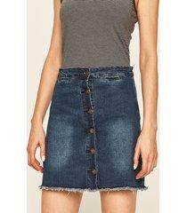 brave soul - spódnica jeansowa