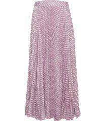 nessa skirt lång kjol rosa birgitte herskind