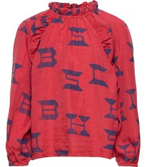 bobo choses all over blouse blouse tuniek rood bobo choses