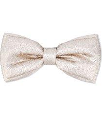 hucklebones london metallic-effect bow-shaped hair clip - gold