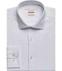 perry ellis premium white tech dress shirt