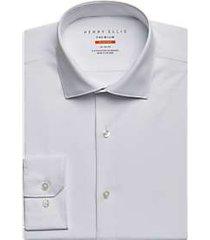 perry ellis premium white tech dress shirt