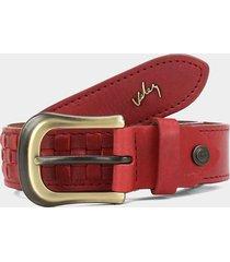 cinturón rojo vélez