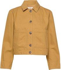 jacket zomerjas dunne jas geel noa noa