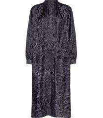 mallie dress knälång klänning grå nué notes