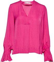 claraiw blouse blouse lange mouwen roze inwear