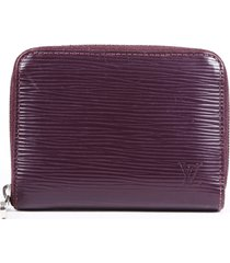 louis vuitton zippy coin epi wallet purple sz: n/a
