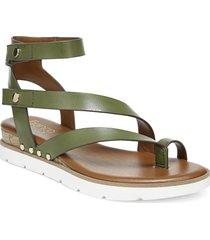 women's franco sarto daven sandal, size 10 m - green