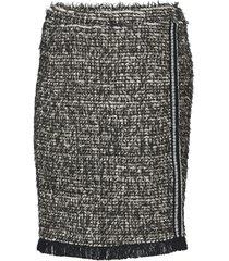 kjol nandy tweed skirt